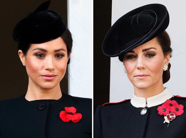 Фото №1 - «Взрослая» Кейт и «голливудская» Меган: о чем говорит макияж герцогинь?