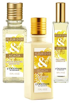 Fleur d'Or & Acacia от L'Occitane