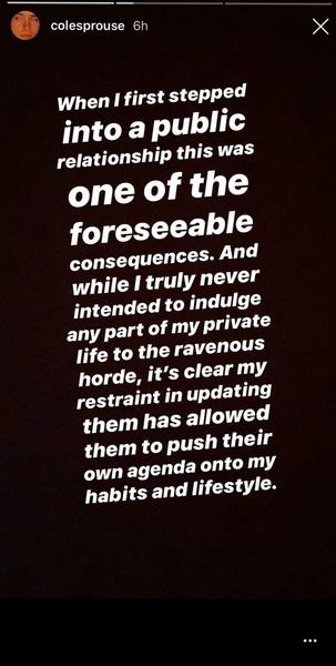 Фото №2 - OMG: Коул Спроус ответил на угрозы фанатов и их обвинения в расставании с Лили Рейнхарт
