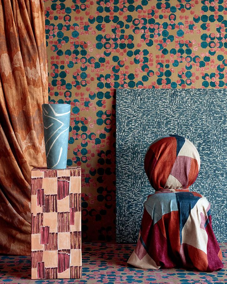 Фото №4 - Новая коллекция ткани и обоев от Келли Уэстлер