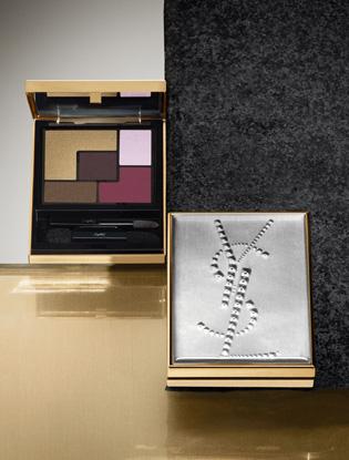 Фото №7 - Притяжение металла: новая коллекция макияжа Yves Saint Laurent