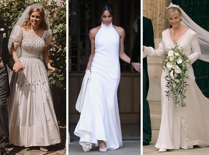 Фото №1 - От Елизаветы II до принцессы Беатрис: в каких туфлях выходили замуж принцессы