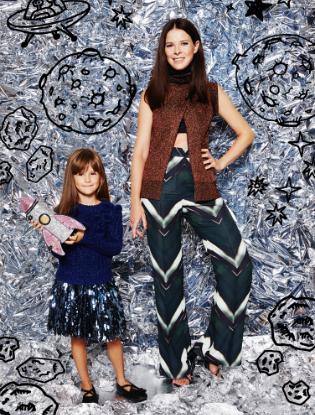 Фото №13 - Звездные мамы и дети в лукбуке H&M Studio Kids