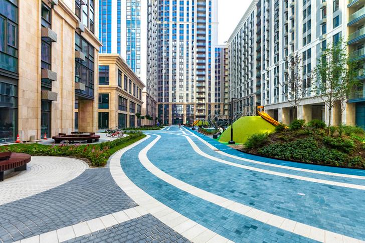 Фото №3 - Квартал апартаментов «Матч Поинт» как синоним «нового Кутузовского проспекта»