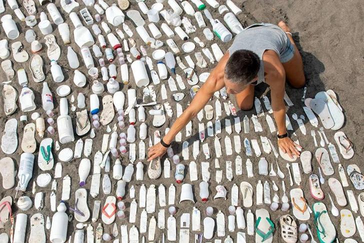 Фото №5 - Скульптура из пластика на Бали: что можно сделать из мусора