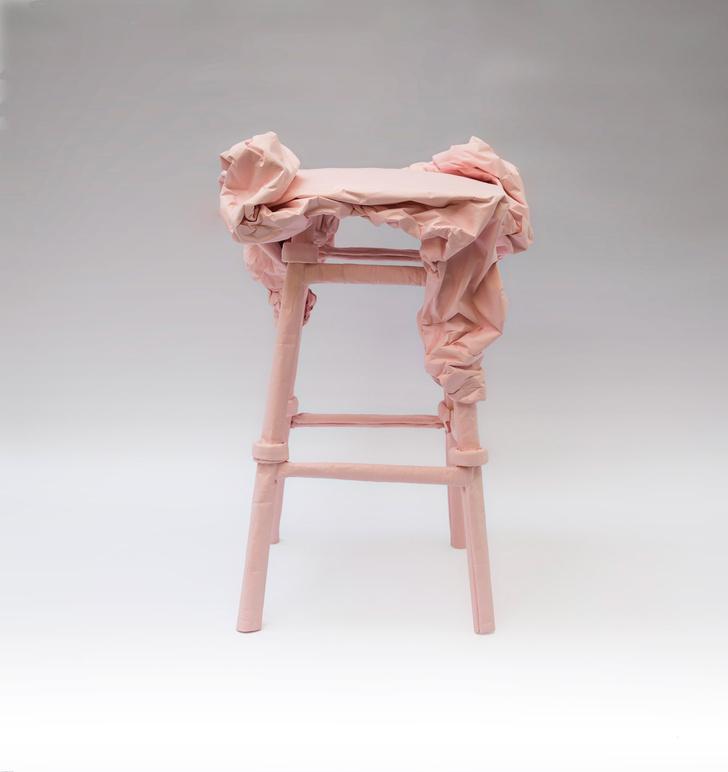 Фото №4 - Malleable State: коллекция мебели из бумаги