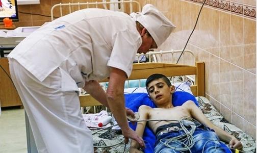Фото №1 - Тяжело больные сирийские дети пройдут лечение в петербургской ВМА