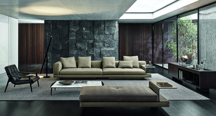 Фото №13 - Minotti 2020: пять дизайнеров— одна коллекция