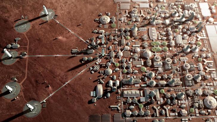 Фото №5 - 5 самых интересных карт Марса