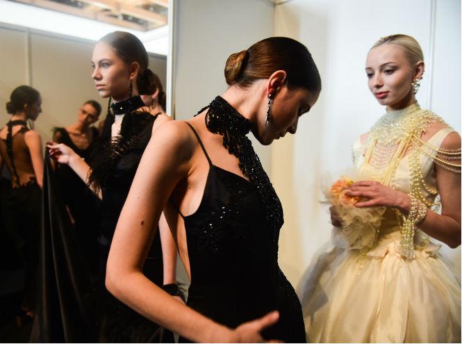 Фото №2 - Назад в будущее: новый сезон Mercedes-Benz Fashion Week Russia