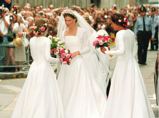 Фото №4 - «Эльфийская» свадьба: как выходила замуж единственная племянница Королевы