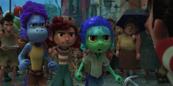 Фото №8 - 10 невероятно прекрасных и трогательных сцен из мультфильма «Лука» от Pixar 🌊