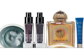 Dior Увлажняющий крем, предупреждающий старение кожи, HydraLife; Givenchy Дневная и ночная пре-сыворотки Le Soin Noir L'Extrait; Amouage Парфюмированная вода Fate; Guerlain Увлажняющая тонированная сыворотка Super Aqua-Serum BB+ Hydra.