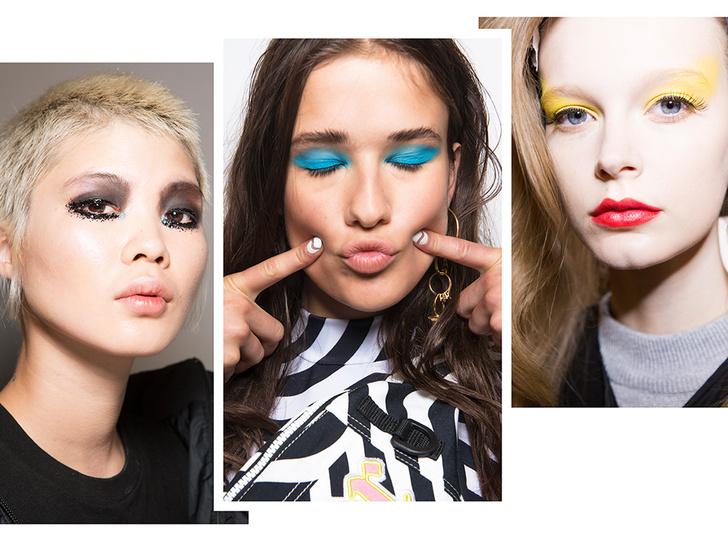 Фото №1 - Самые яркие тренды макияжа весны-лета 2018 с недели моды в Лондоне