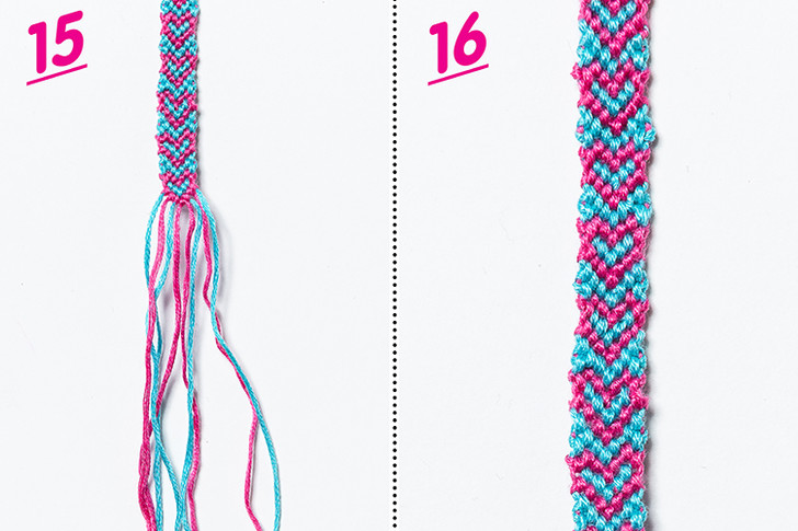 Фото №8 - Мастер-класс: Плетем фенечку с сердечками