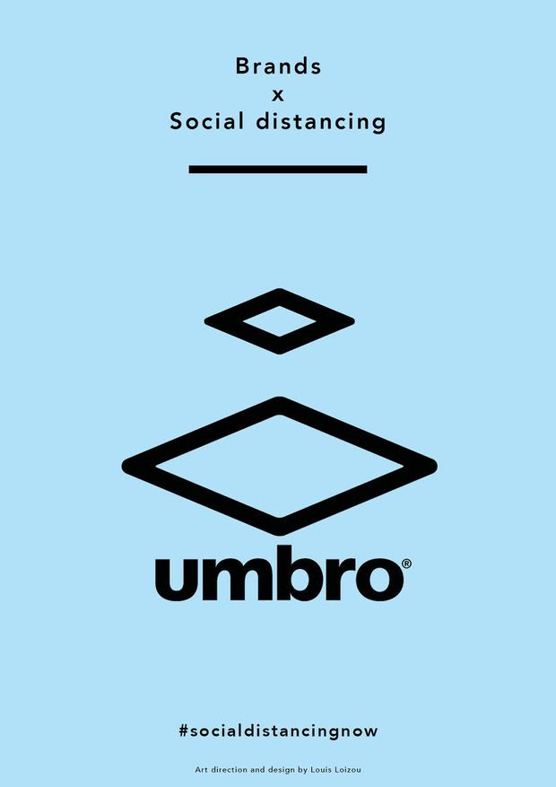 Фото №12 - Известные логотипы держат социальную дистанцию: галерея