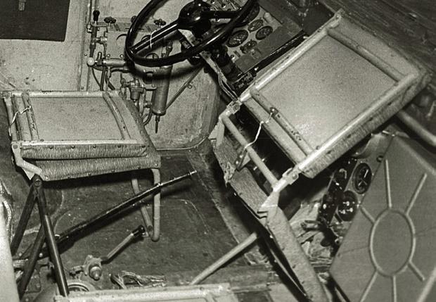 Рабочее место оператора ПЭУ-1 впечатляет чуть меньше внедорожных особенностей машины