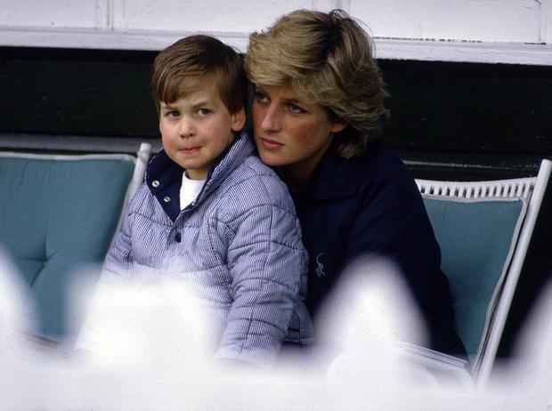 Фото №1 - Принца Уильяма дразнили из-за фотографий Дианы