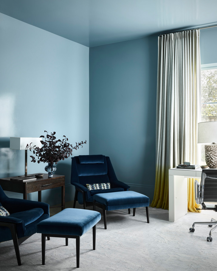 Фото №7 - Современный дом в синих тонах в Далласе