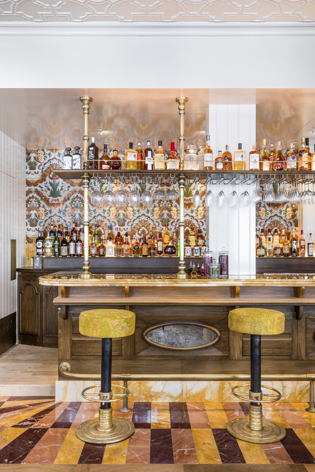 Фото №4 - Ресторан по проекту Лауры Гонсалес в Париже