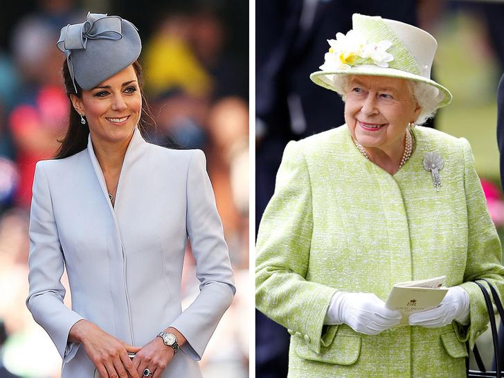 Фото №1 - Один интерес на двоих: общая страсть герцогини Кейт и Королевы