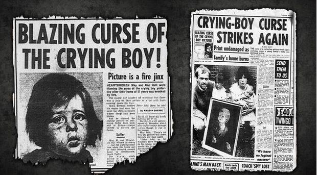 Фото №2 - Месть «Плачущего мальчика»: кого преследовала картина-поджигательница