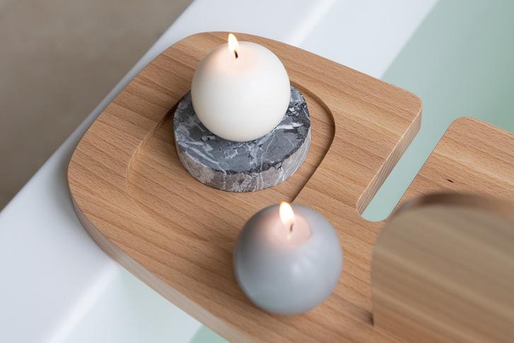 Фото №4 - Полка для ванной: дизайн Анны Струпинской для Amovino