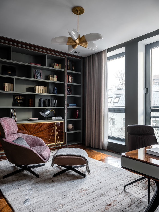 Фото №4 - Квартира с удобными гардеробными в Москве