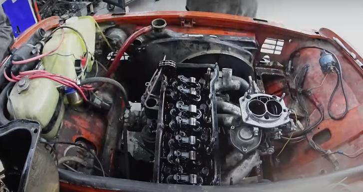 Фото №1 - Русские мужики проверили, что будет, если залить вместо антифриза моторное масло (видео)