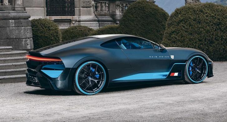 Гиперкар Bugatti Divo вообще-то уже представили публике еще в 2019-м. Правда у оригинала среднемоторная компоновка. А вот так по версии Рэйна Приска могла бы выглядеть версия с передним расположением силового агрегата. Какой вариант выбрать?..