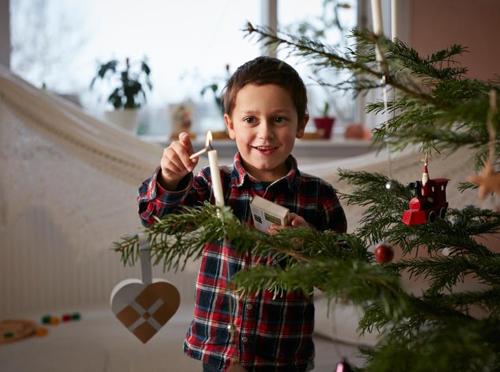 Фото №4 - Елки, палки, мандарины: как украшают новогодние деревья в разных странах мира