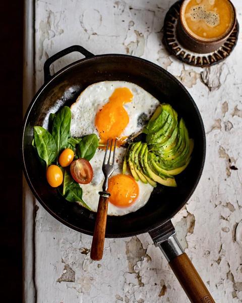 Фото №4 - 5 вариантов вкусных и полезных завтраков на каждый день
