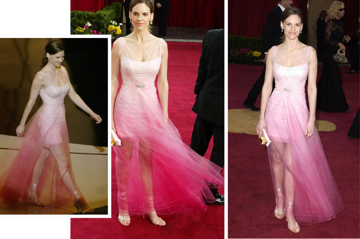 Хилари Суонк, 2003 оскар худшее платье