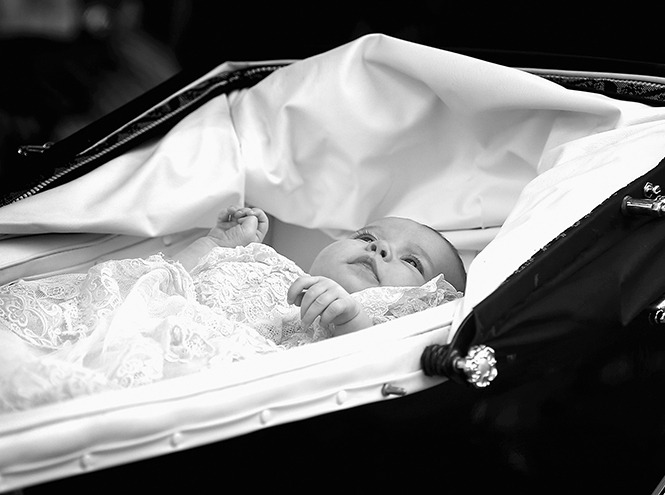 Фото №8 - Принцесса Шарлотта Кембриджская: первый год в фотографиях