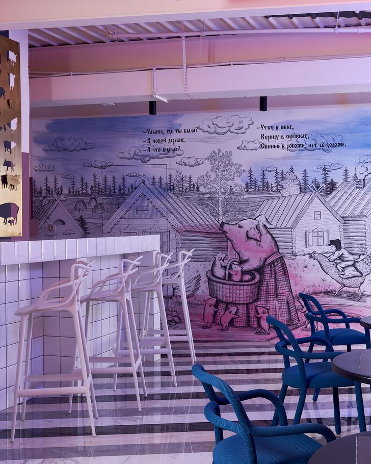 Фото №2 - Корпоративное кафе в историческом центре Томска