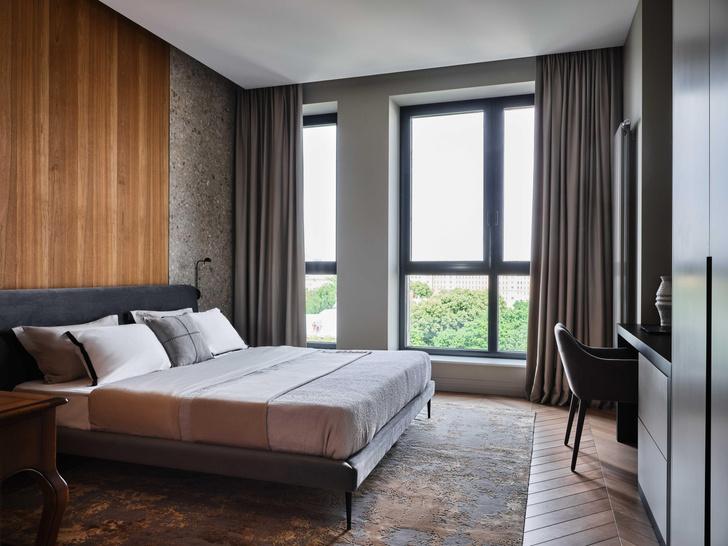 Фото №16 - «Манхэттенская» квартира с винтажной мебелью 136 м²