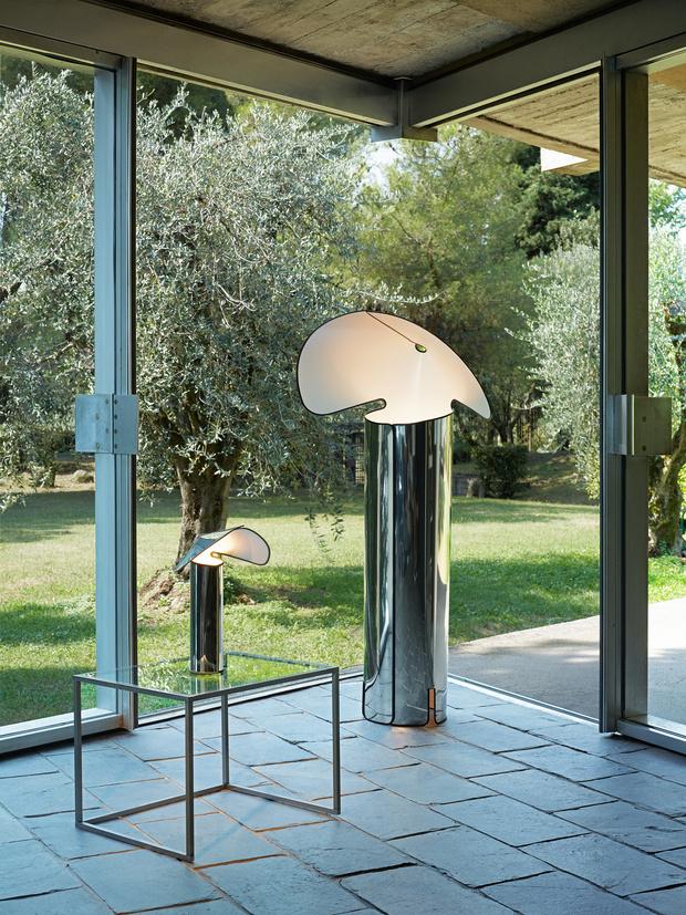 Фото №1 - Культовая лампа 1960-х Chiara вновь на рынке