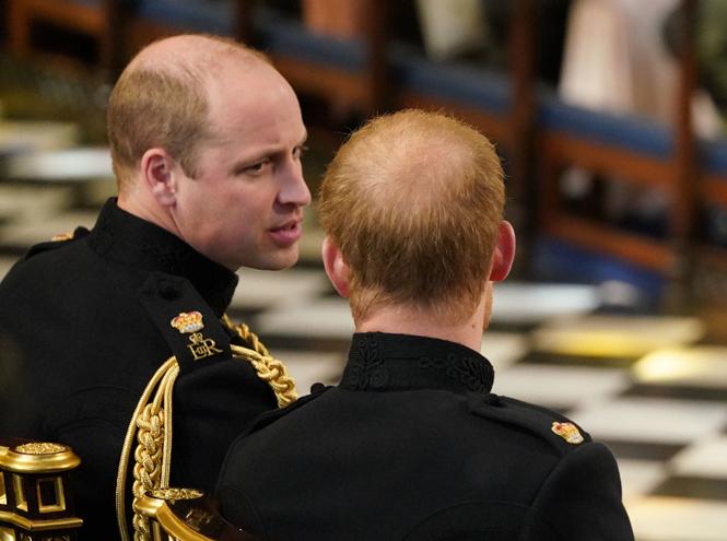 Фото №6 - Как принц Уильям отомстил принцу Гарри на свадьбе