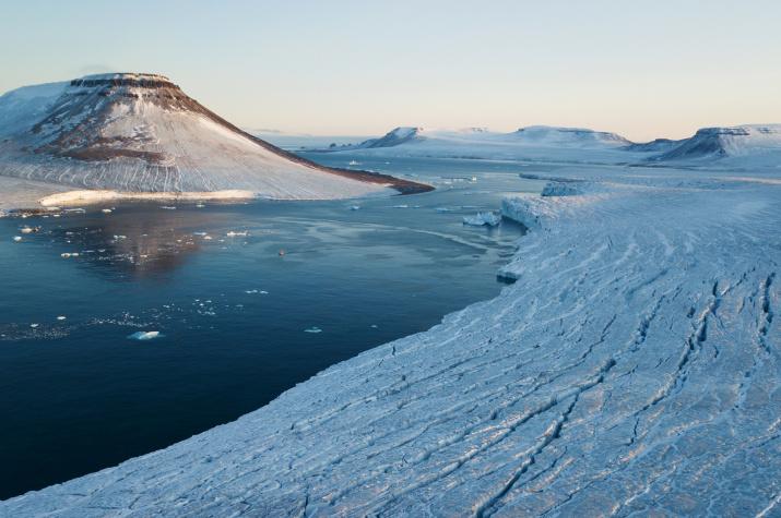 Фото №1 - В Арктике открыли новый остров