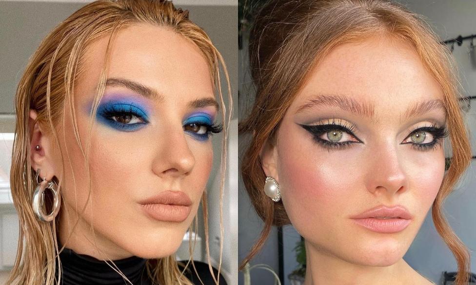 Голубые тени и другие тренды из прошлого, которые популярны сейчас