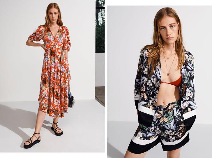 Фото №1 - Женственные и элегантные: лучшие наряды с платочным принтом в новой коллекции Maje