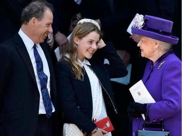 Фото №1 - Подружка на свадьбе Кейт и любимица Королевы: что нужно знать о внучке принцессы Маргарет