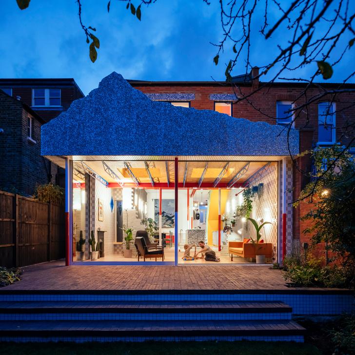Фото №11 - Дом со стеклянной пристройкой в Лондоне