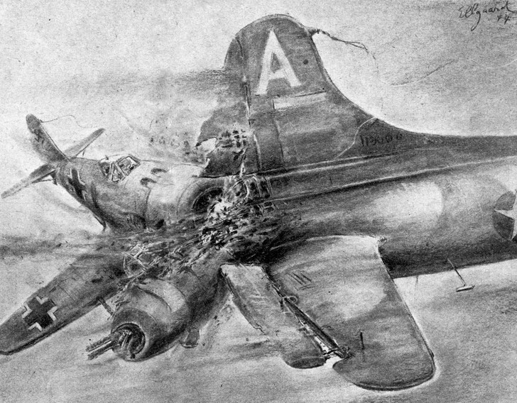 Фото №1 - Спецотряд «Эльба»: первая атака немецких камикадзе