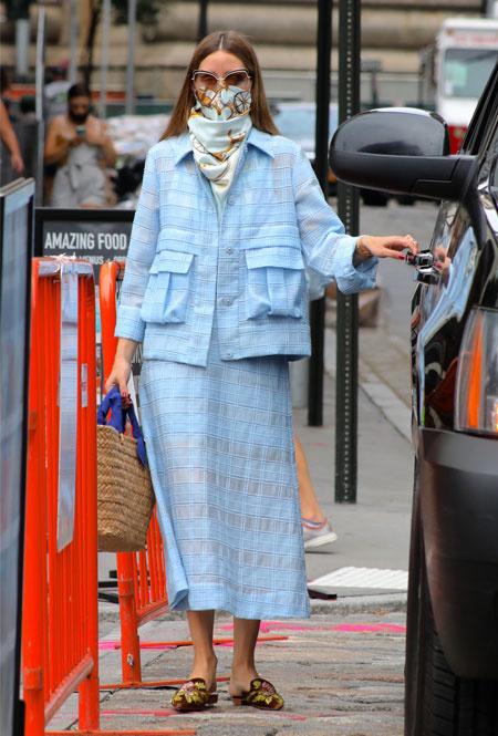 Оливия Палермо в Нью-Йорке