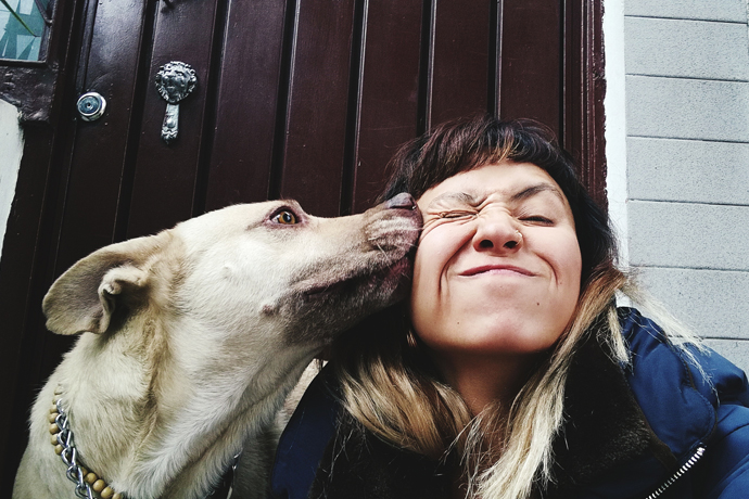 Human friends: dog owners suffer less from loneliness
