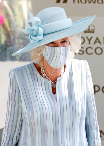 Фото №11 - Лучшие образы на открытии Royal Ascot 2021 (и немного безумных шляп)