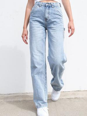 Фото №7 - Какие джинсы носить осенью 2020: 7 главных трендов