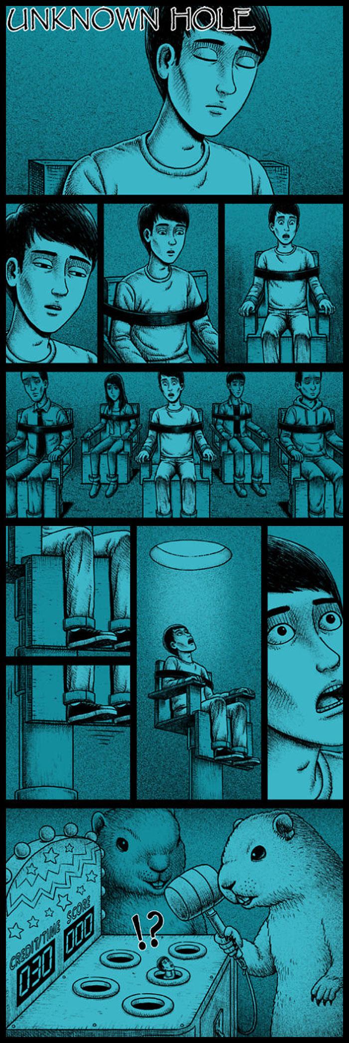 Фото №19 - 30 комиксов с отборным черным юмором от Бена Чена