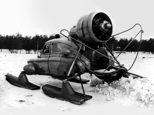 Фото №3 - То ли лыжи не едут… Как провалились советские аэросани «Север-2»
